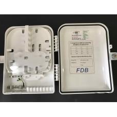 FTTH box 16 or 8 port sin splitter plc