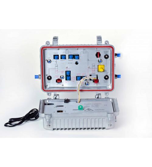Amplifier 862 mhz 2 output net chip gastfet